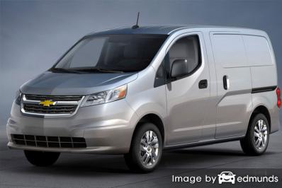 Insurance rates Chevy City Express in Corpus Christi