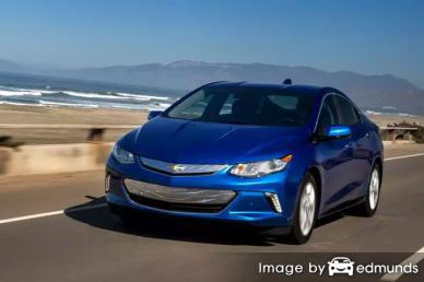 Insurance quote for Chevy Volt in Corpus Christi