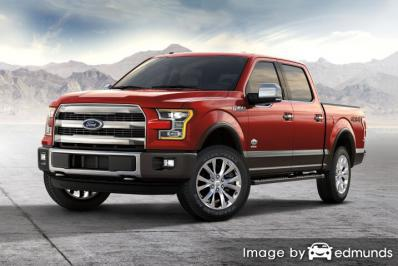 Insurance quote for Ford F-150 in Corpus Christi