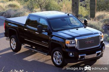 Insurance quote for GMC Sierra 2500HD in Corpus Christi