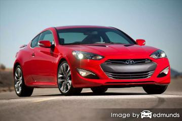 Insurance quote for Hyundai Genesis in Corpus Christi