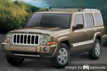 Insurance quote for Jeep Commander in Corpus Christi