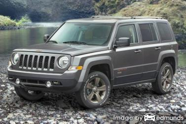 Insurance quote for Jeep Patriot in Corpus Christi