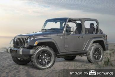 Insurance for Jeep Wrangler