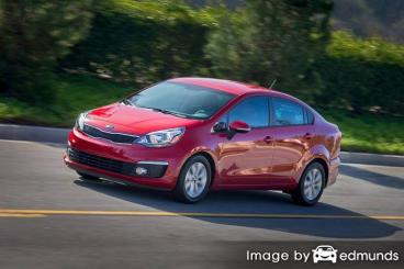 Insurance rates Kia Rio in Corpus Christi