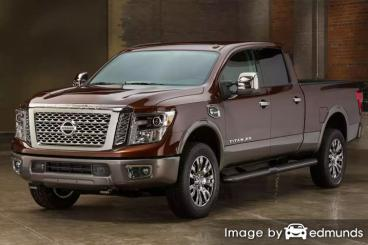Insurance quote for Nissan Titan XD in Corpus Christi