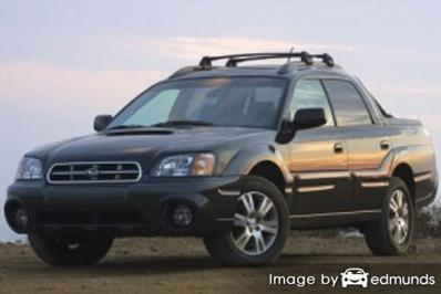 Insurance quote for Subaru Baja in Corpus Christi