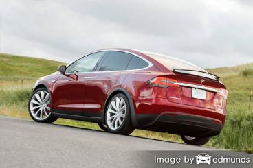 Insurance quote for Tesla Model X in Corpus Christi
